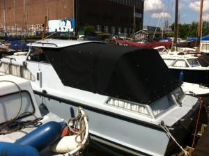 achtertent motorboot